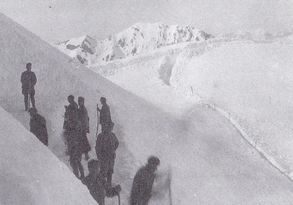 קו עמדות אוסטרו-הונגרי בשלג